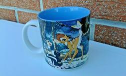 1990s Collectible Vintage Disney Mug - BAMBI - Springtime Mo