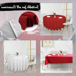 De Fête Tissu Table Housse Rond Table Rectangulaire Dîner