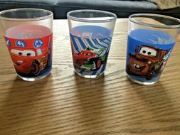 Disney Pixar CARS - 3 Mini-Verres Enfant 1er âge - 3 Baby G