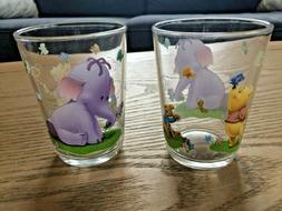 Disney Pooh Winnie & the Efelant - 2 Mini-Verres Enfant 1er