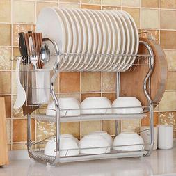 egouttoir a vaisselle cuisine 3 niveaux panier
