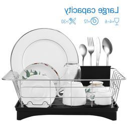 Egouttoir à vaisselle en Acier inox pour Couverts Assiettes