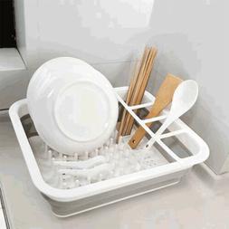 Égouttoir Pliable Etendoir Vaisselle Organisateur de cuisin