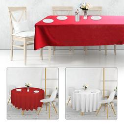 Polyester Nappe Table Tissu Housse Catering Fêtes Vaisselle