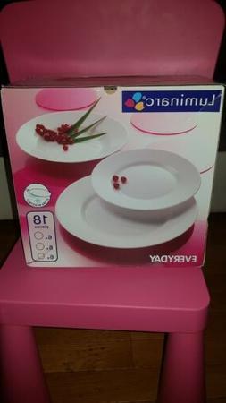 Service De Table Vaisselle 18 pièces /6 per EVERYDAY DE LUM