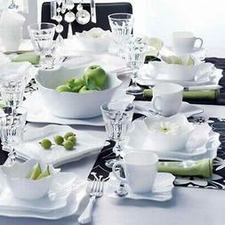 Service de vaisselle Authentic Blanc 19-pièces LUMINARC
